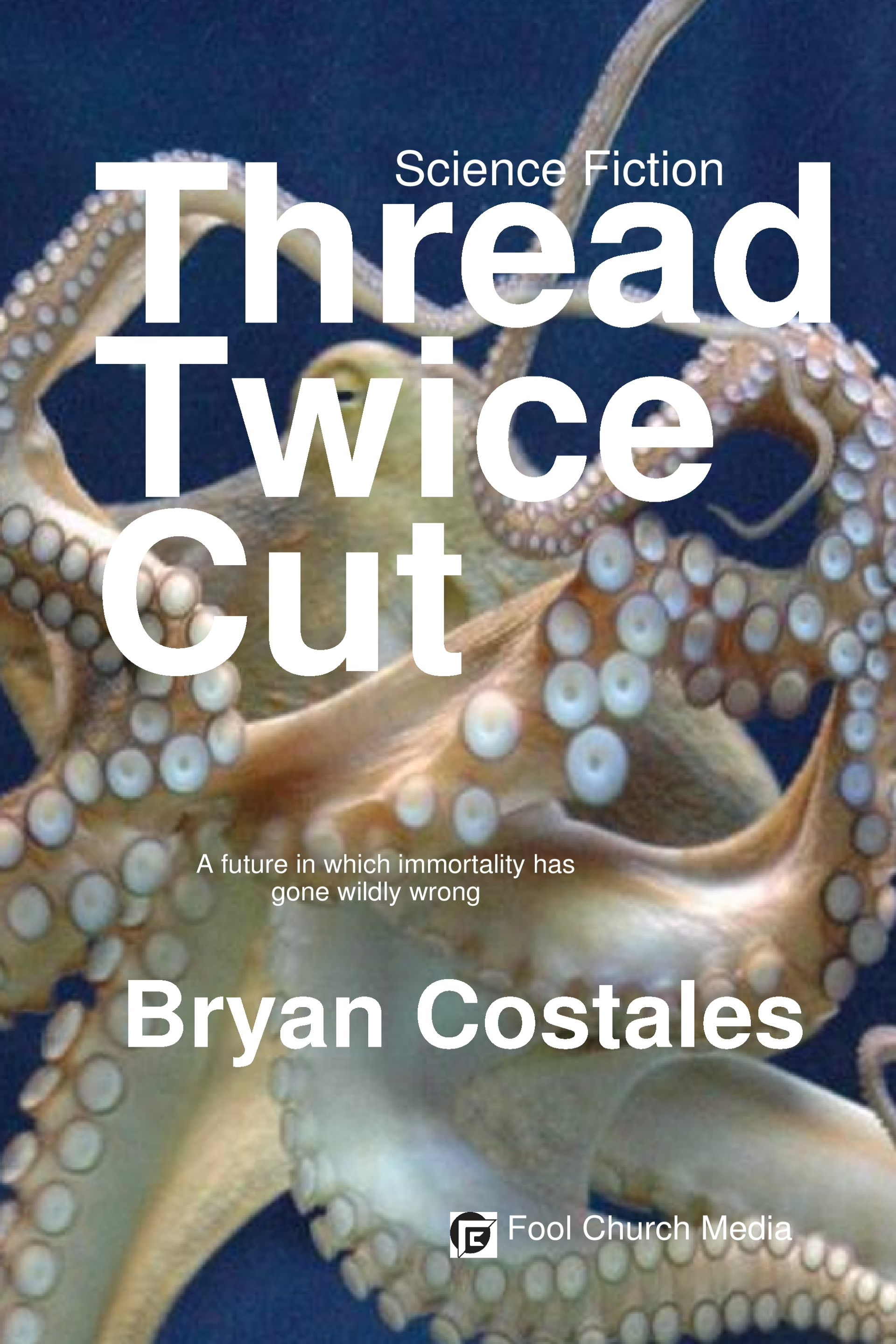 thread twice cut